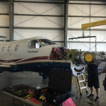 Pilatus PC-12 Engine Change